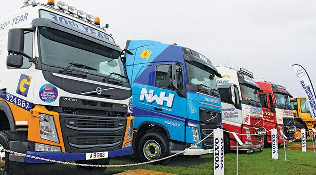 Five Volvo Operator Anniversaries