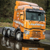 Novel Truck Spray Beats Vinyl Wraps