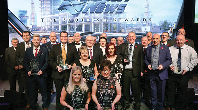 SCOTTISH REWARDS WINNERS