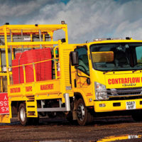 Isuzu Forward Goes Backwards With Contraflow