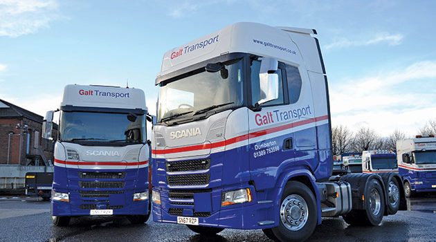 Galt Adds New Look To New Scanias
