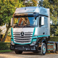M-B Launches UK Limited Edition Actros1