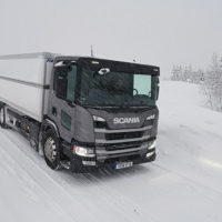 SCANIA SNOW TEST