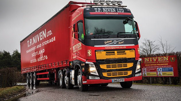 Used Volvo's Drive TP Niven's General Haulage Fleet