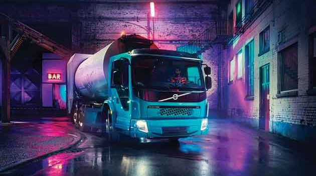 Volvo Launches Second All-Electric Truck Model In Hamburg