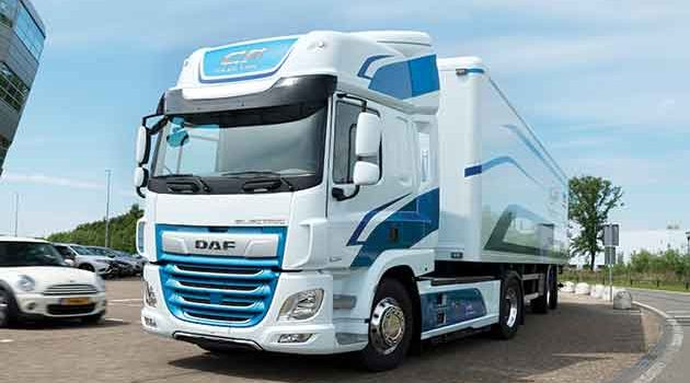 DAF CF Electric 40 Tonner Fully Charged In 1.5 Hours