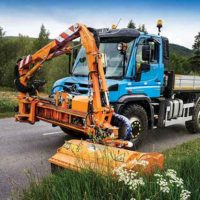 Unimog Keeps Highlands In Trim