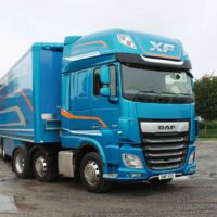 DAF new XF Test