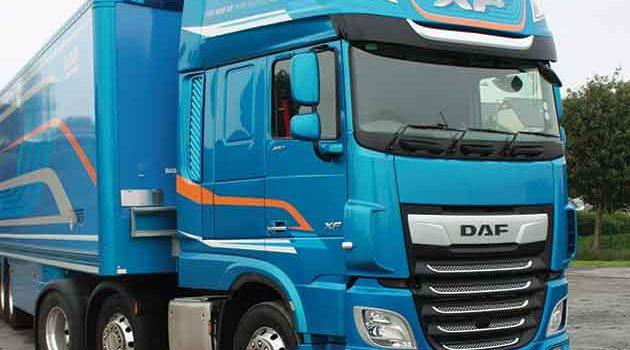 DAF new XF Test