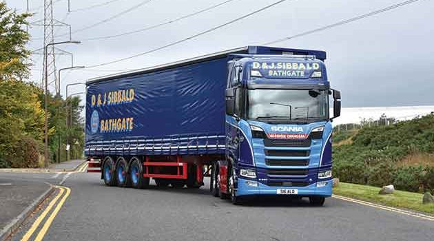 Anniversary Scania For D&J Sibbald