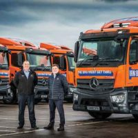Nine New Actros To Get The Bru Thru