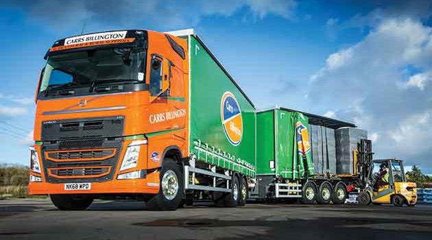27t Payload Boosts Supply Chain For Carrs Billington