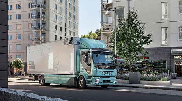 First Electric Volvo Trucks Delivered
