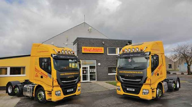 Billy Bowie Enlarges Stralis Tractor Fleet