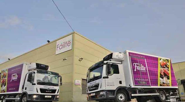 Glasgow Food Supplier Settles On Single Spec Trucks And Vans