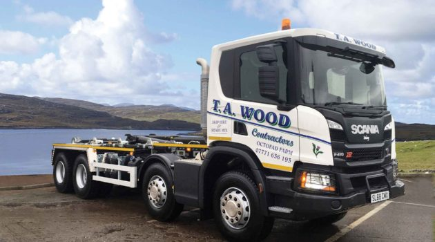 Islay Contractor Hooks Up With Scania
