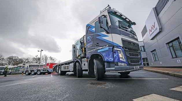 Increased Reach With New Beavertail Crane Truck