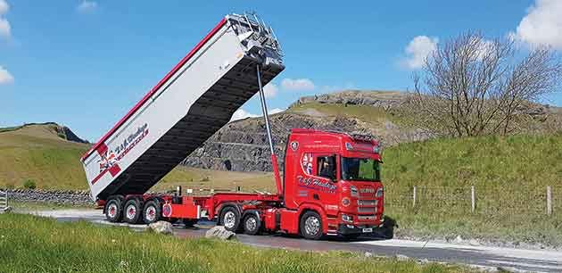 One Axle Choice For T&J Haulage