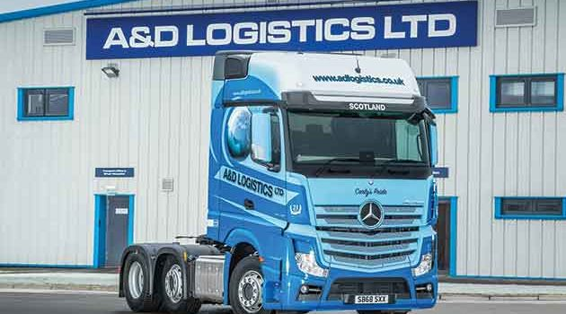 New Actros Is Carly's Pride