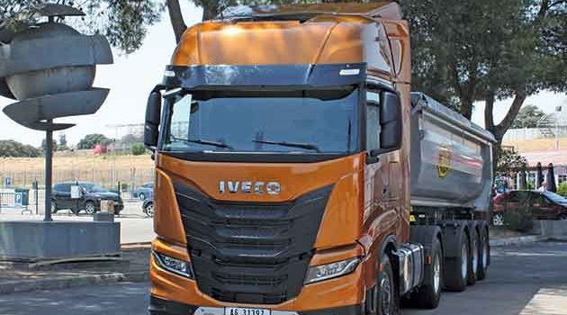 New iveco flagship