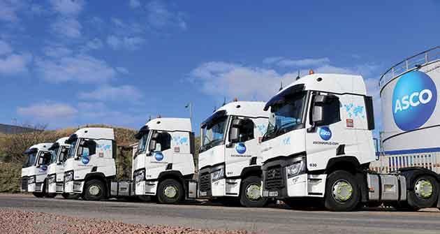 ASCO Tops Up Renault Truck Fleet