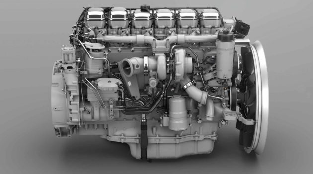 Scania's Powerful New Inline Six, Kind To Front Axles