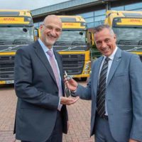 DHL Forms Strategic Partnership With Volvo Trucks