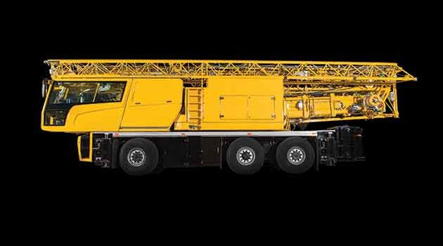 Scotland's First Electric Mobile Tower Crane