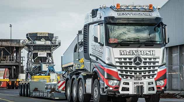 New 180t Flagship For McIntosh Heavy Logistics