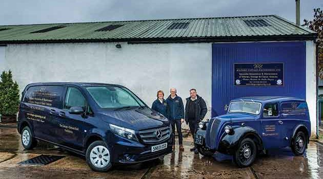 A Modern Van Classic For Vintage Engineering Specialist