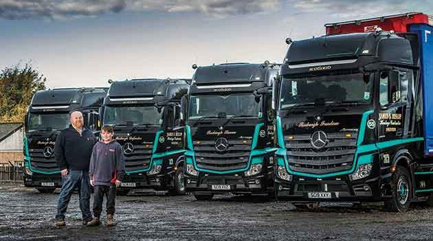 Borders Haulier Opens A New Mercedes Chapter With Four Actros1s