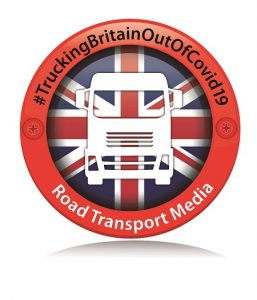 Trucking Britain out of Covid-19 panel reports majority of trucks still running