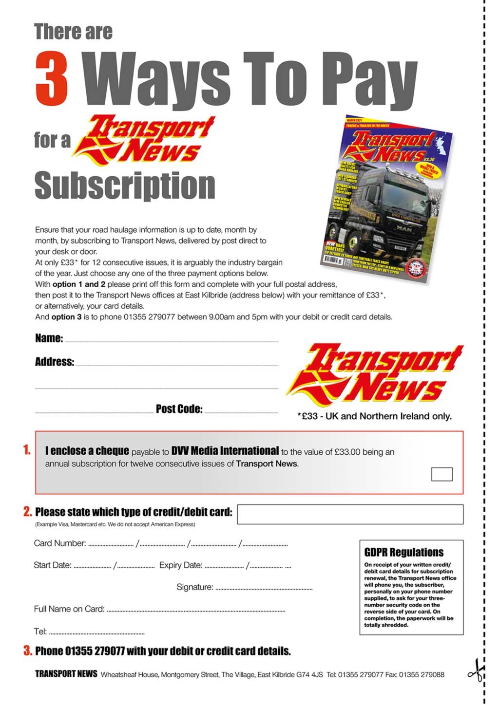 Subscribe to Transport News